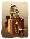 Lyxa and Mirri - Christmas