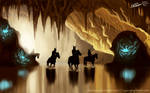 Entrance of the crystal cave