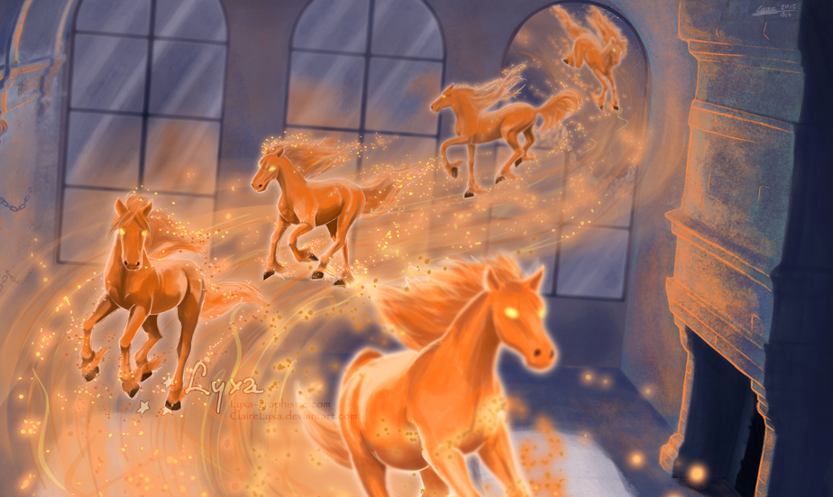 A dream of horses by ClaireLyxa