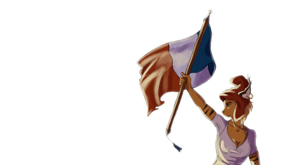 Liberte Egalite Fraternite by ClaireLyxa