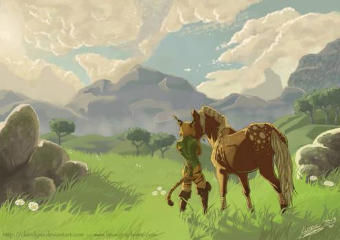 Lyxa and Marony scenery