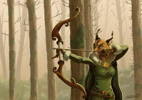 Lyxa hunting