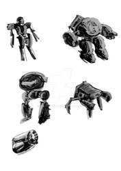 Robots Sketches 1