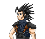 Zack Fair by AxelFlame8