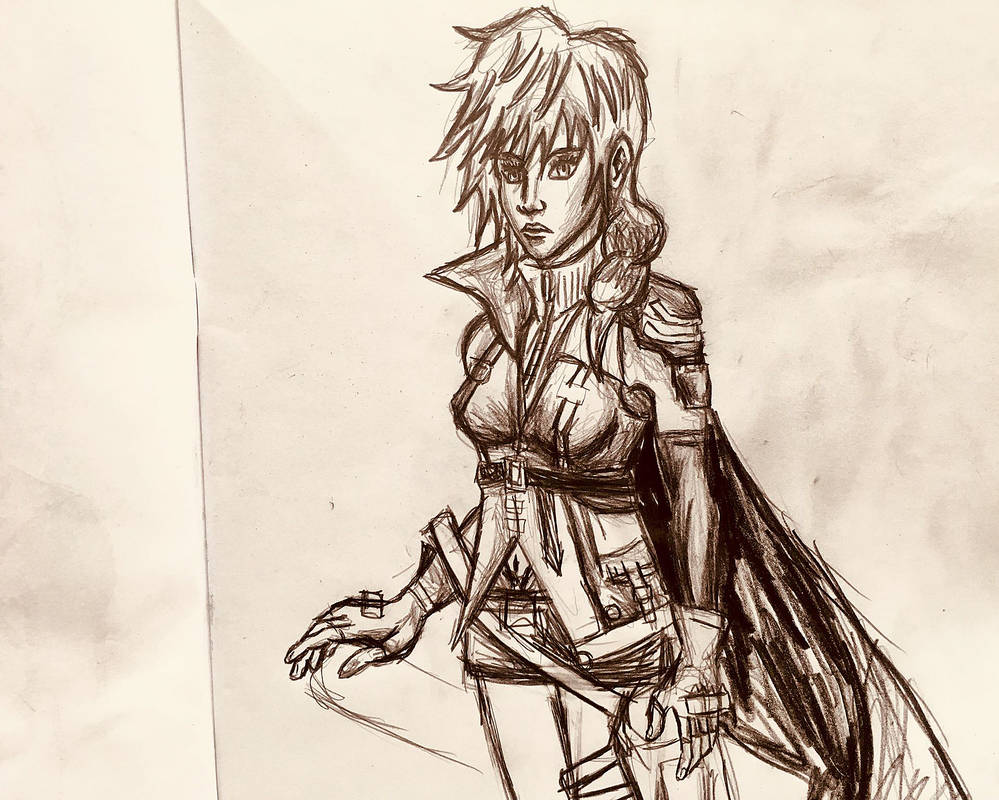 Lightning Pencil Drawing 2 by AxelFlame8
