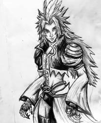 Kuja Pencil Drawing 4