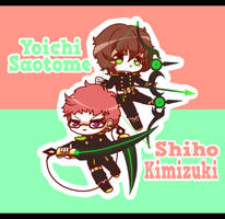 Chibi No Seraph - Yoichi X Shiho by Koki-arts