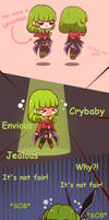 Leviathan of Envy in Chibi Stakes