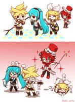- V O C A L O I D -  Nice to meet you, guys! by Koki-arts