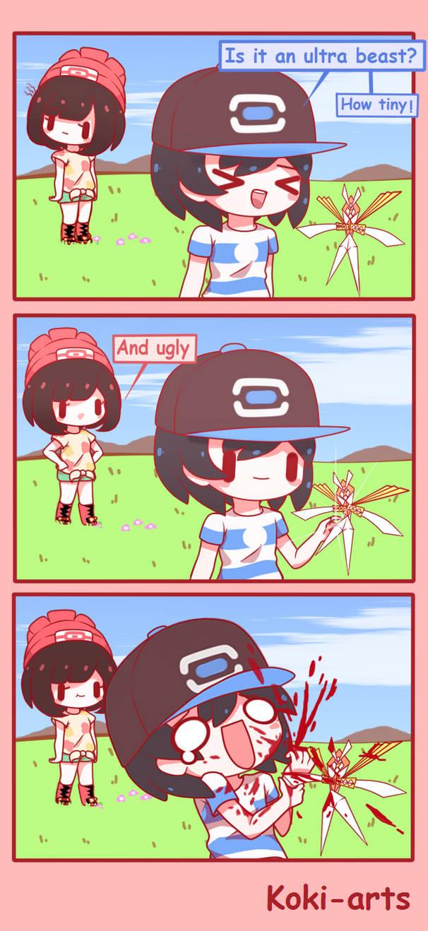 Comic of Alola - Stomp the flower by Koki-arts