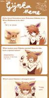 Draw your Pokemon Gijinka Meme by Koki-arts