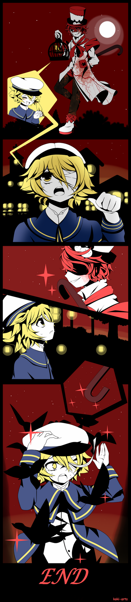 A tale of Fukase and Oliver... by Koki-arts