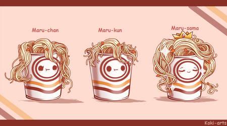 Maruchanes... by Koki-arts