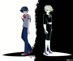 I am a ghost by Koki-arts