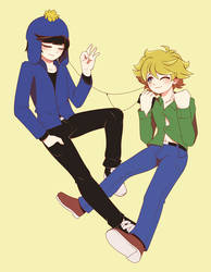 South Park - Craig and Tweek by Koki-arts