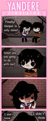 yandere Comic - My warm basement by Koki-arts