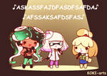 Not understandable song by Koki-arts