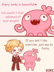 UglyDolls - Body shaming by Koki-arts