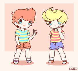 Claus and Lucas