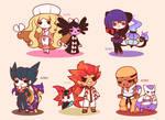 Chibi Pokemon Teselia Elite Four