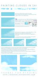 Cloud Painting Tutorial in SAI by Kuurimu