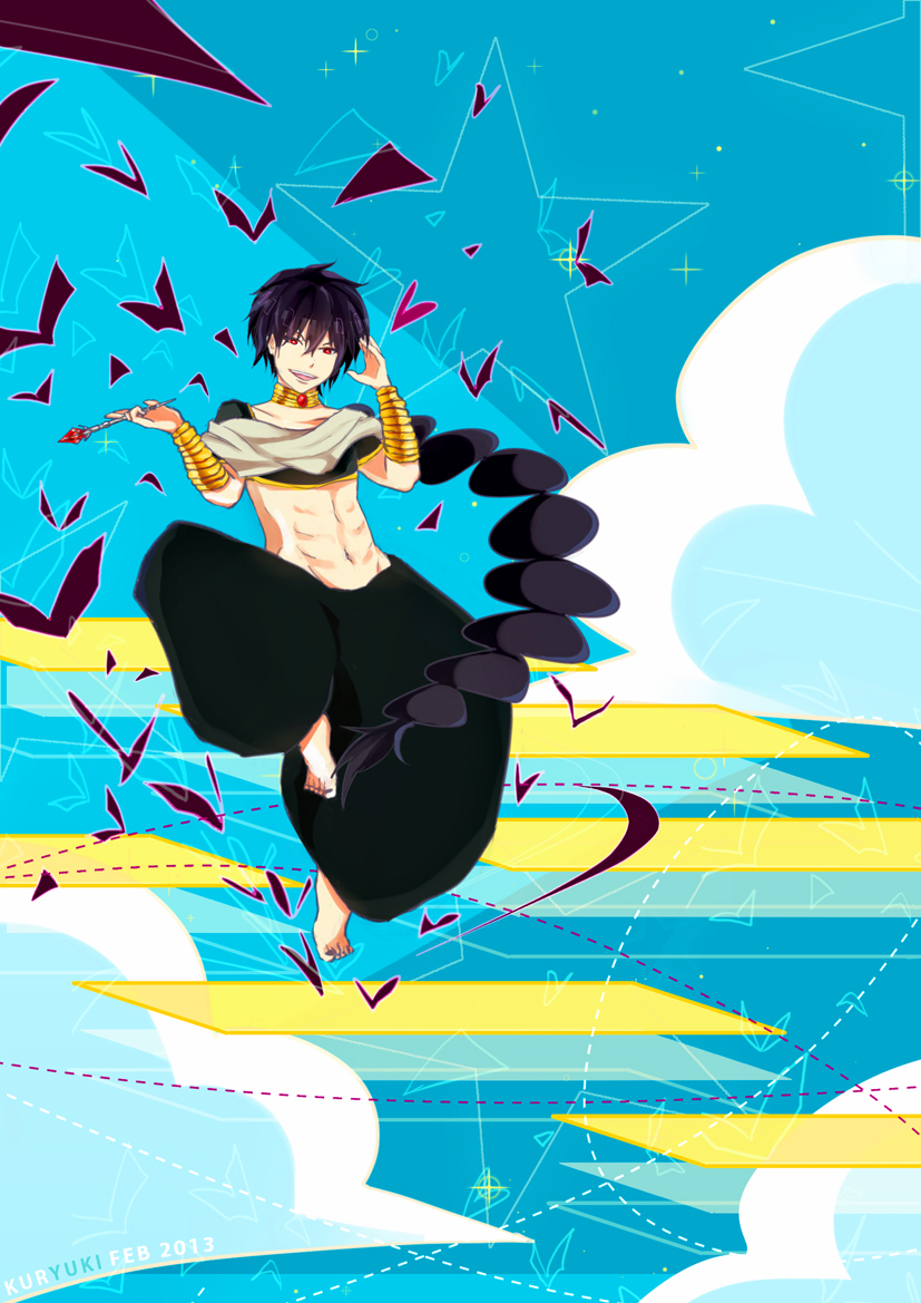 Magi:Judal by kuryuki