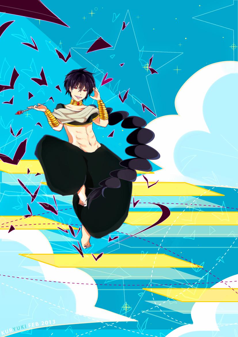 Magi:Judal by kuryuki