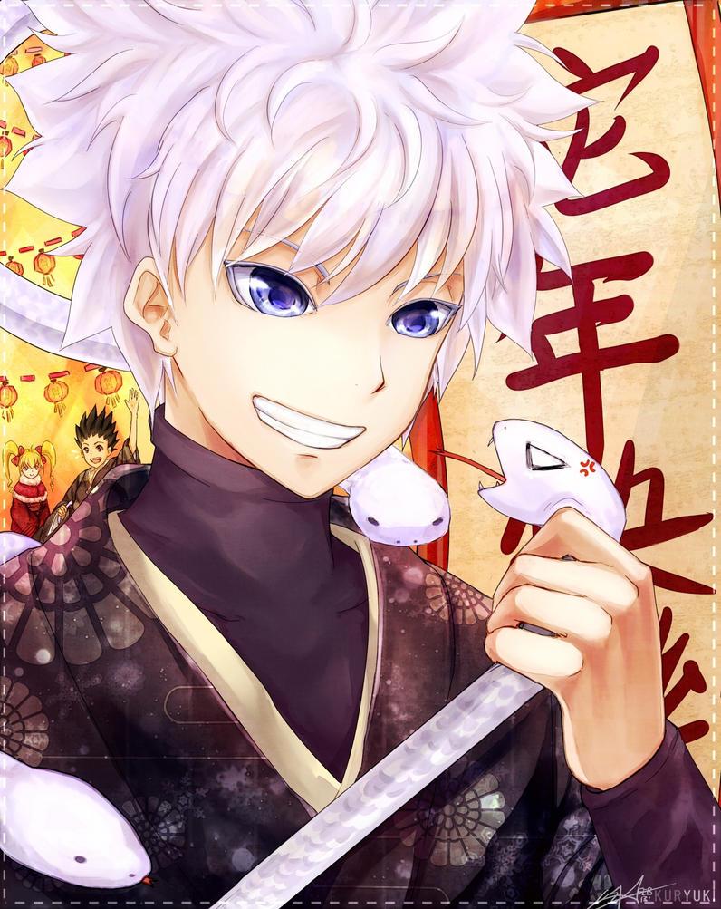 Hunter x Hunter : Killua by kuryuki