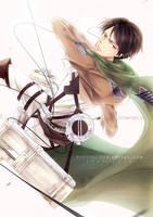 Shingeki no Kyojin: Levi by Kuurimu