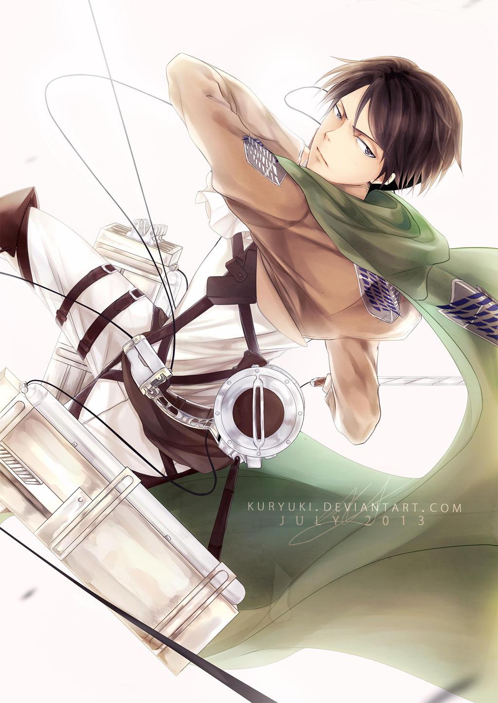 Shingeki no Kyojin: Levi by kuryuki
