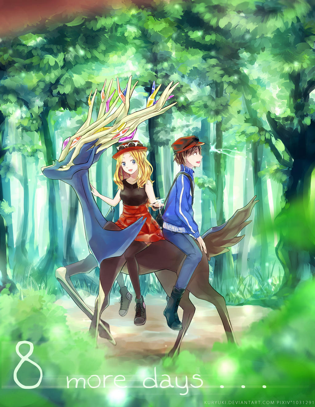 Pokemon XY by kuryuki