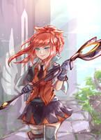 Battle Academia Lux by Kuurimu