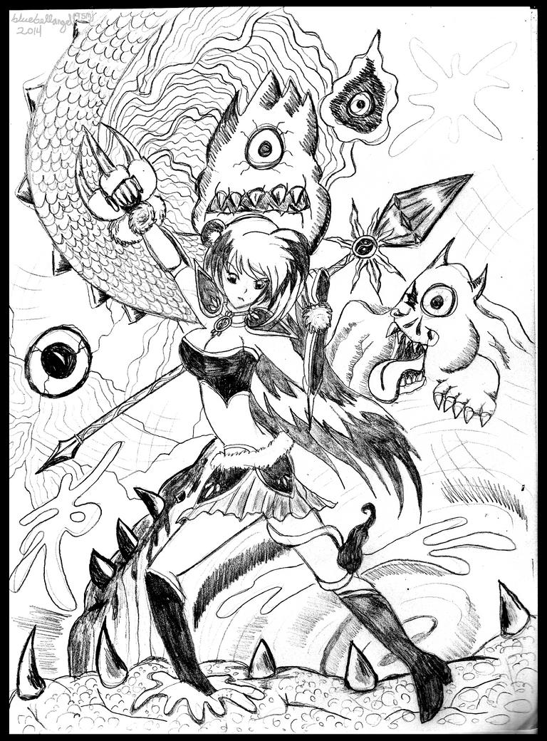 CyclopsBattle by bluebellangel19smj