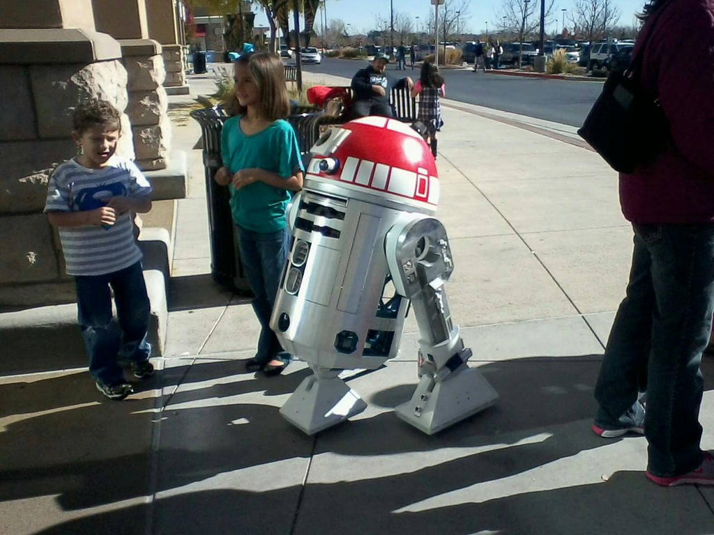 Starwars at Toys R Us 2014 by bluebellangel19smj