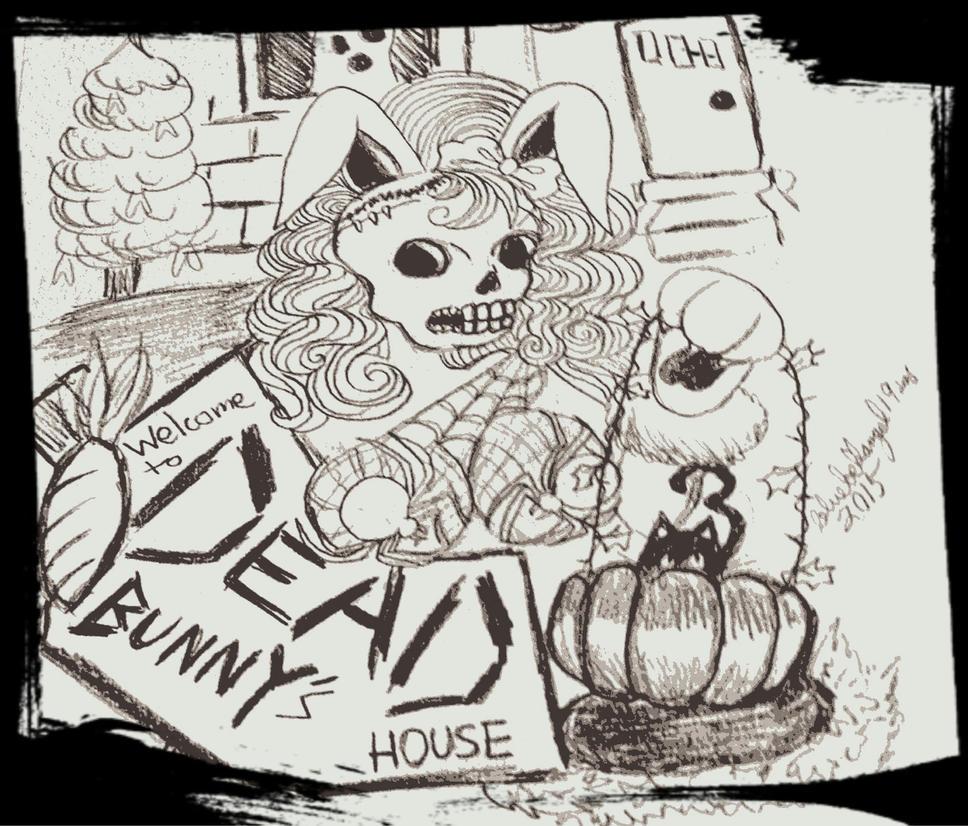 Dead Bunny by bluebellangel19smj