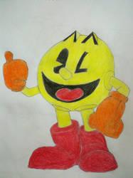 Pacman by skrallhunter