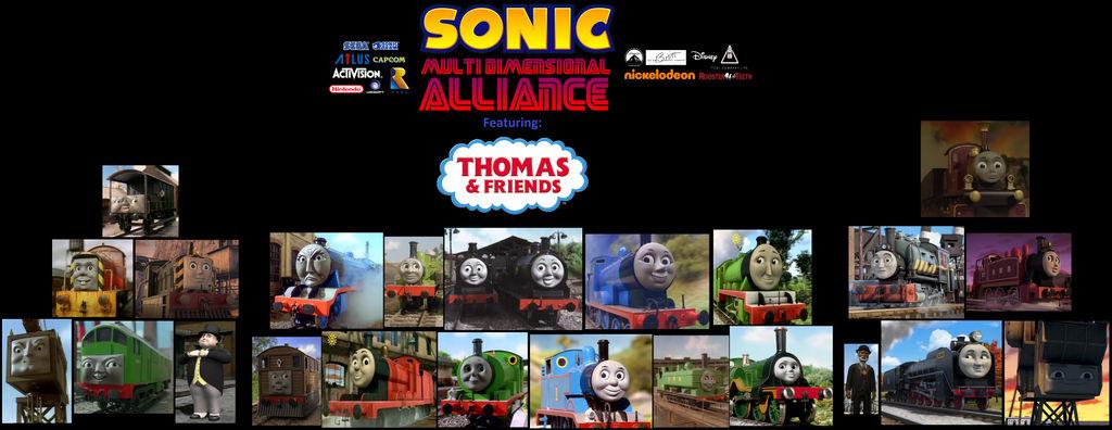 SMDA: Thomas and Friends Cast by skrallhunter on DeviantArt