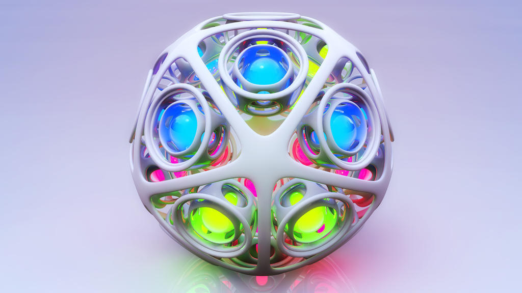 spheres inside a sphere by xylomon