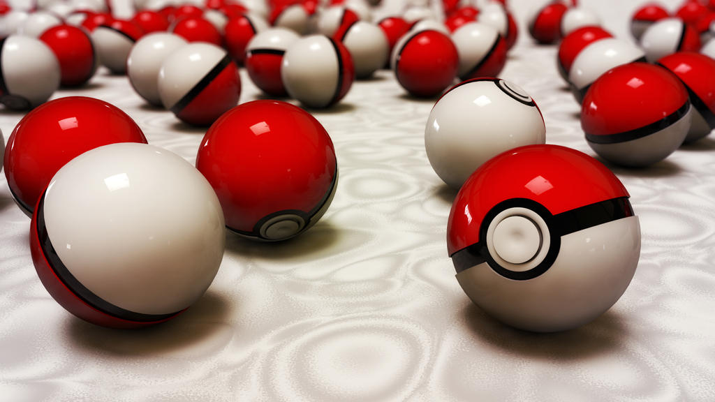 pokeballs by xylomon
