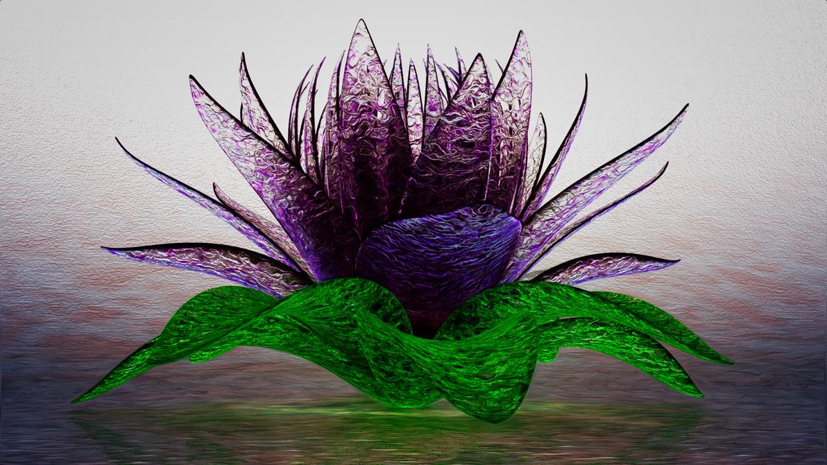 Glas Flower by xylomon