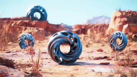 Unreal Engine Render 2 Meercat Demo