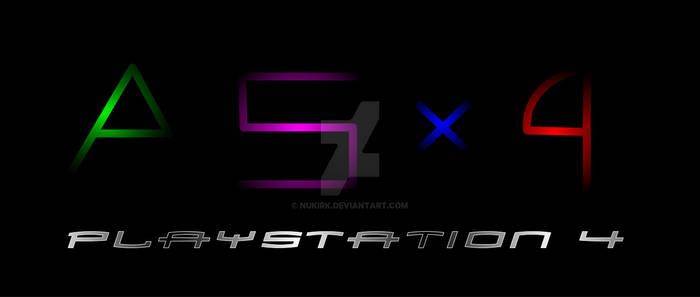 Playstation 4 Logo (Concept)