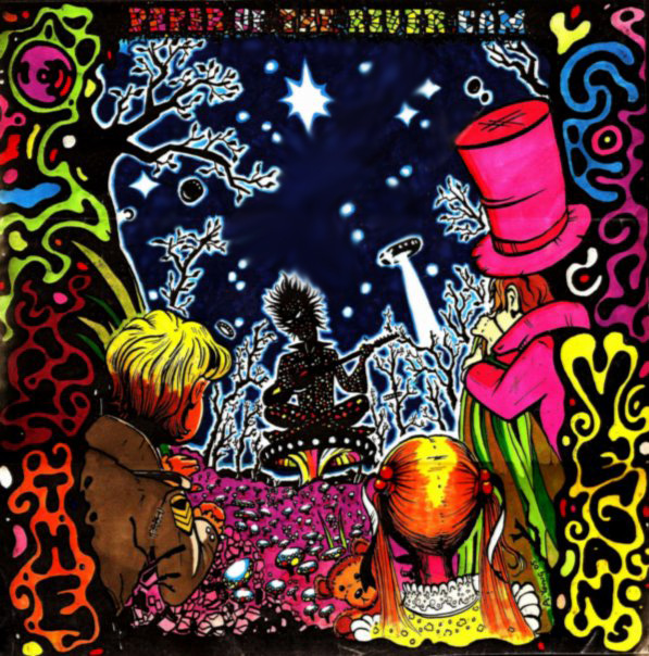psychedelic CD cover Piper of the River Cam by 80sogre