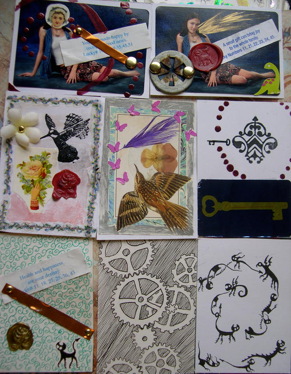 Artist Trading Cards. Artist Trading Cards 1 by