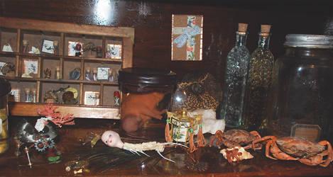 Cabinet top shelf