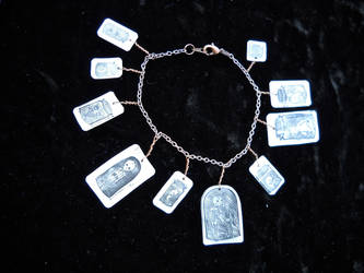 Mad Science Charm Bracelet by KatarinaNavane