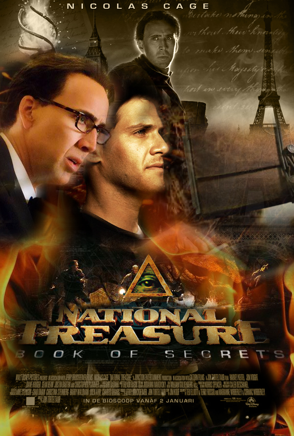 National Treasure 2 Poster By Marty Mclfy On Deviantart