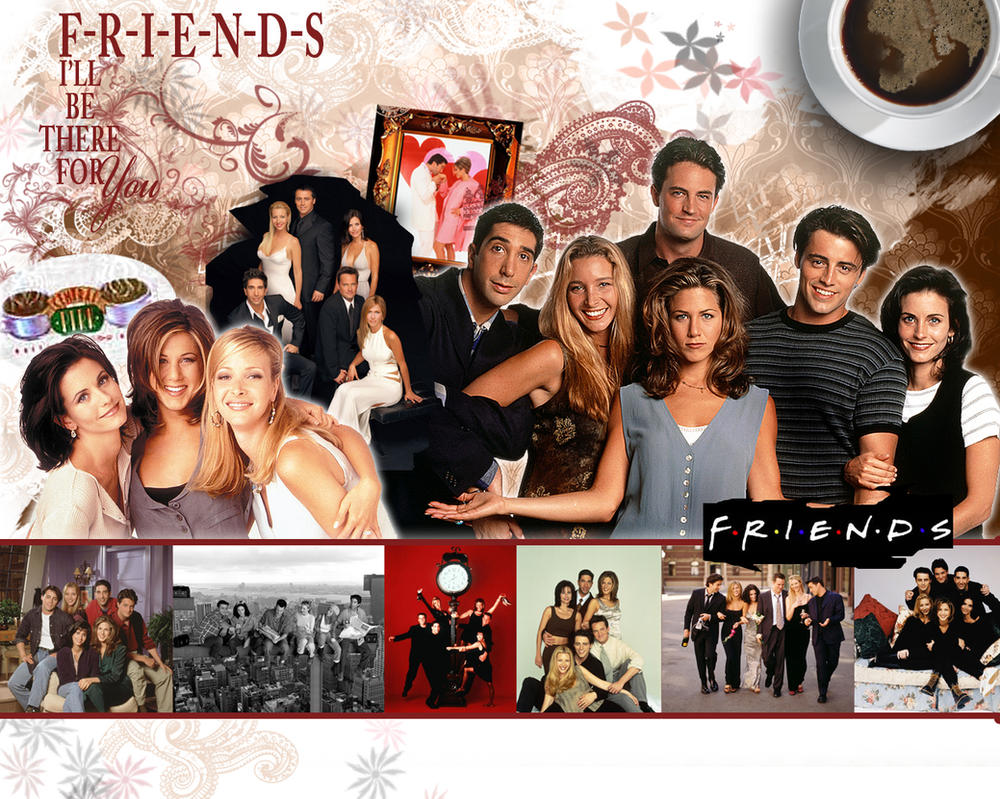 Courteney Cox And Jennifer Aniston Friends Wallpaper WallDevil