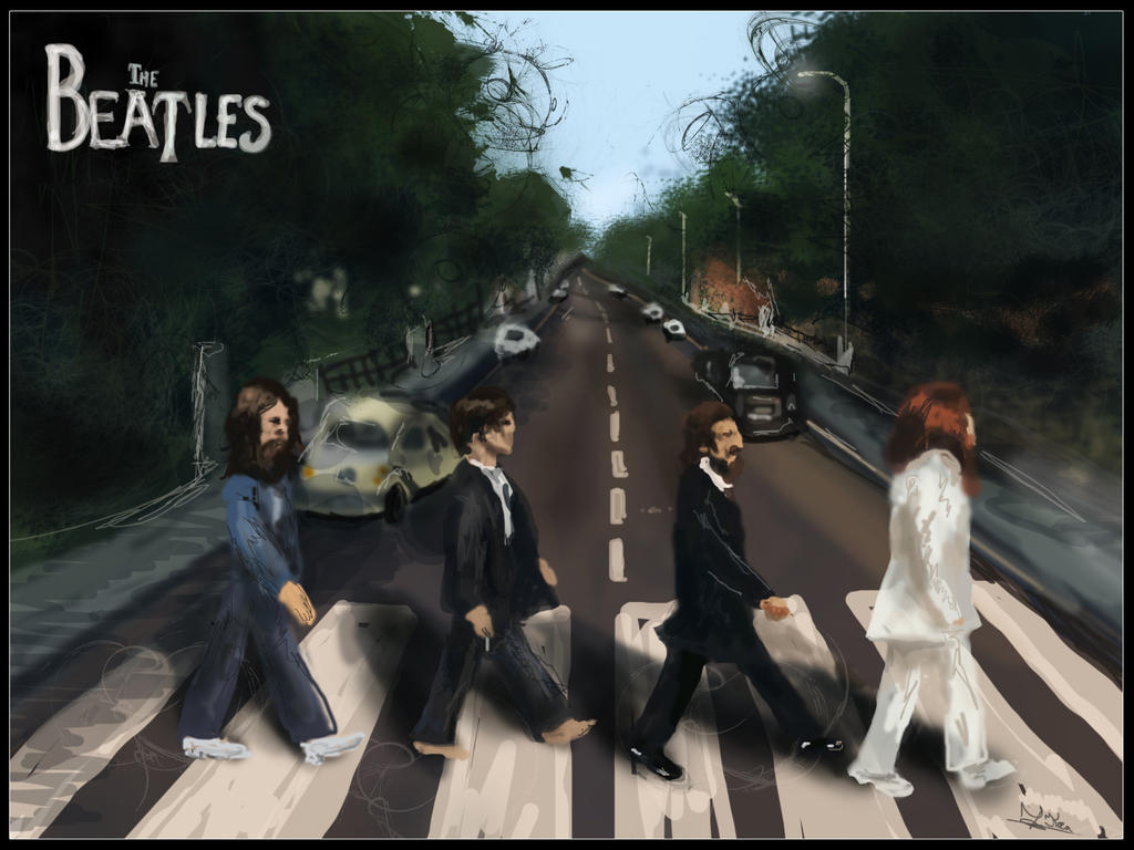 The beatles abbey road by marty mclfy