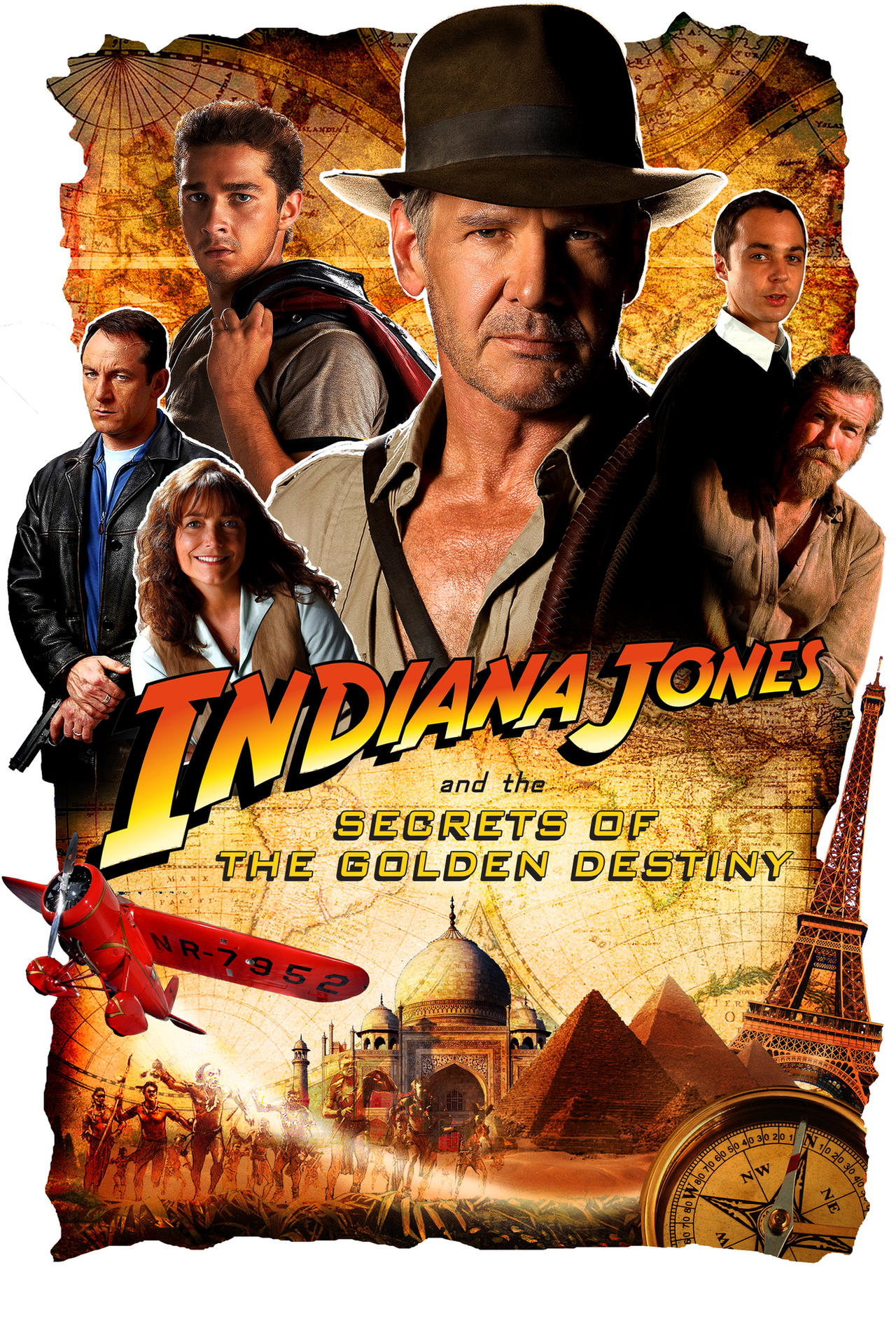 indiana jones 5 poster by martymclfy on deviantart